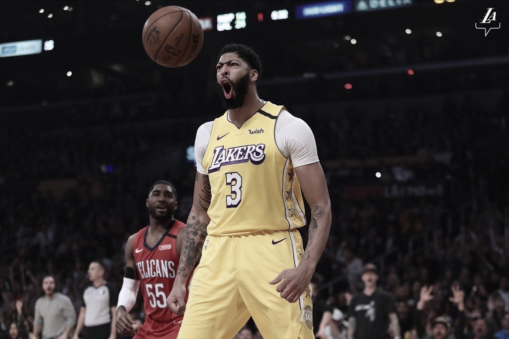 Anthony Davis spoils homecoming for the New Orleans trio