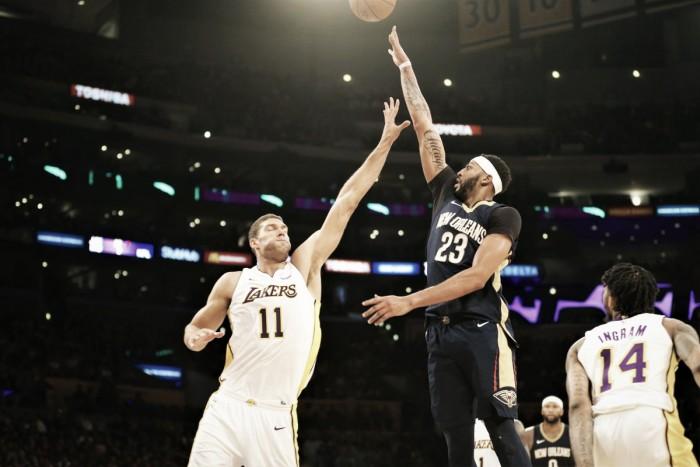 NBA, i Pelicans resistono alla rimonta dei Lakers (112-119)