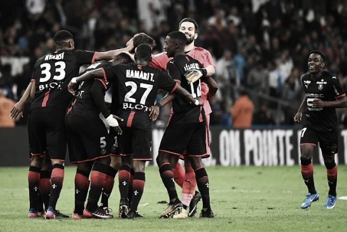 Rennes bate Marseille com bela atuação ofensiva e vence primeira na Ligue 1