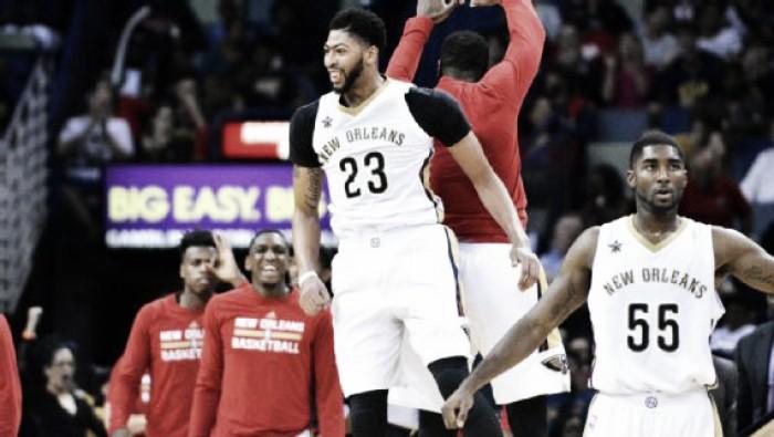 NBA, Davis spazza via i Timberwolves. Thunder k.o. anche a Sacramento