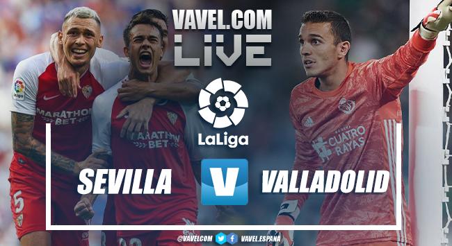 Resumen Sevilla 1-1 Real Valladolid en LaLiga 2020