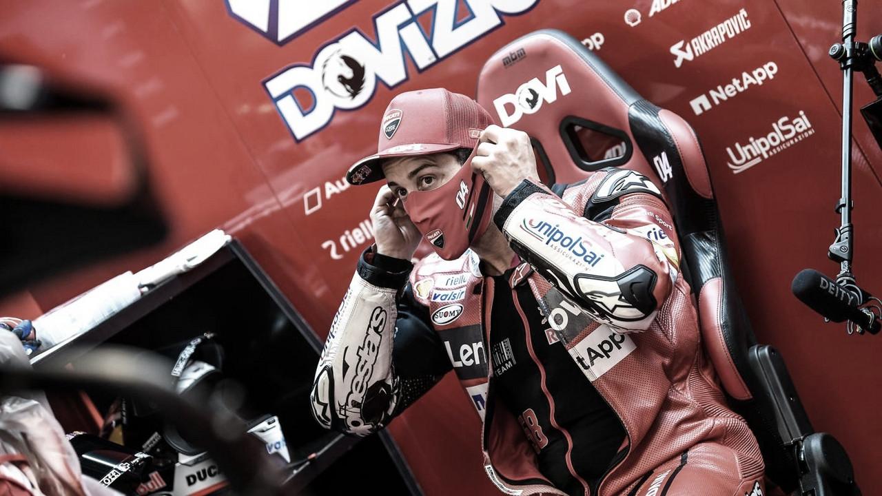 """Andrea Dovizioso: """"Ha sido una carrera extraña"""""""