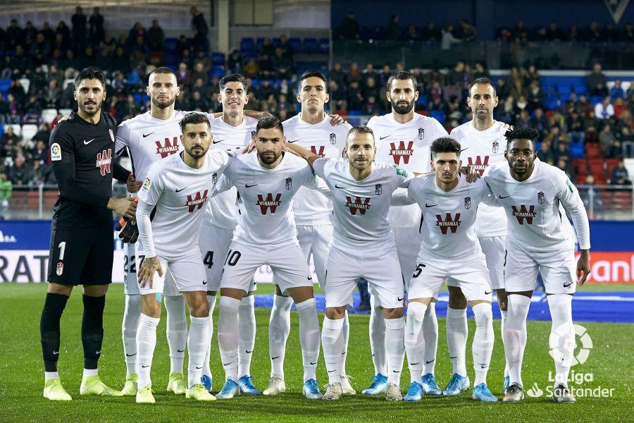 Eibar - Granada CF: puntuaciones del Granada, jornada 18 de La Liga Santander