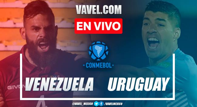 Resumen: Venezuela 0-0 Uruguay en Eliminatorias de CONMEBOL 2021