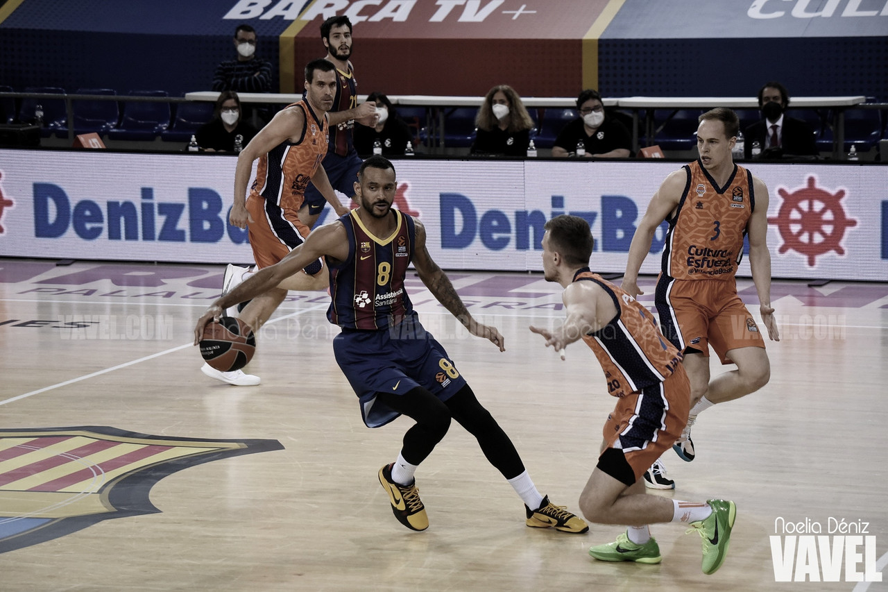 Resumen Barça Basket 85-81 Zenit en Euroliga