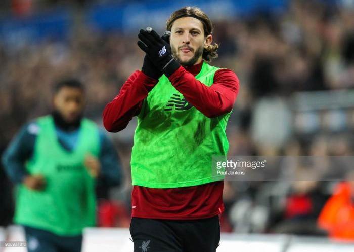 Adam Lallana could return to Reds squad at St Mary's