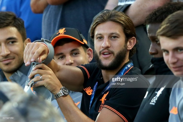 Liverpool's Adam Lallana heads to Qatar in his latest attempt to recover from thigh injury