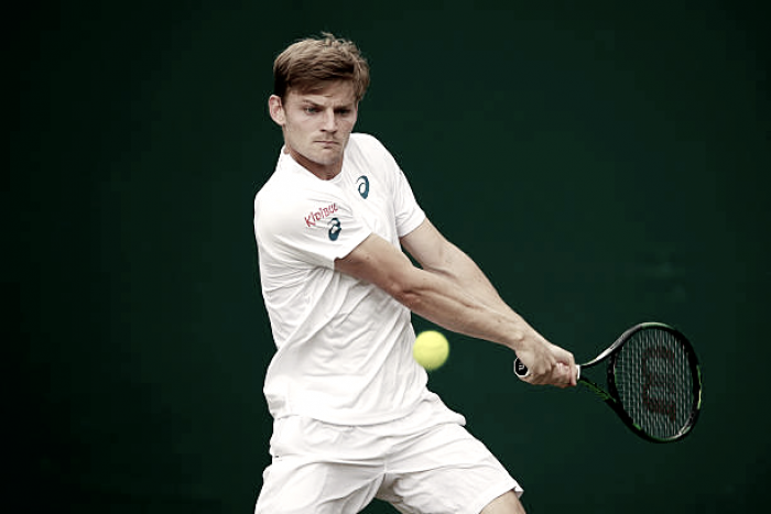 David Goffin out of Wimbledon with ankle injury