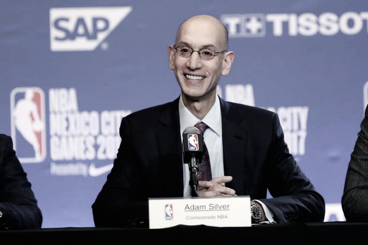 Adam Silver recibe extensión de 5 años como Comisionado de la NBA