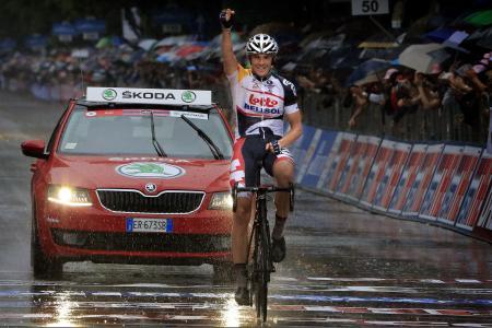 Giro : Hansen l'emporte à Pescara, Wiggins perd du temps