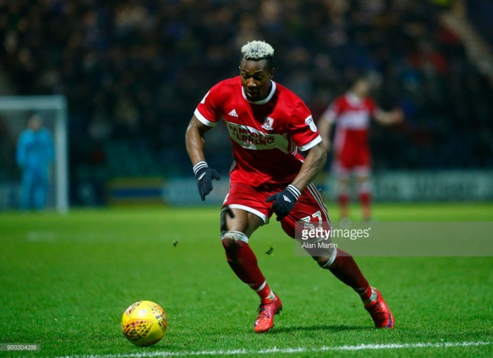 Middlesbrough 2-1 Reading: Traore brace boosts Boro's play-off hopes
