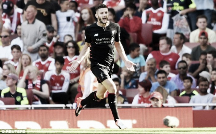 I'm enjoying deeper role in Liverpool's midfield but it'll take time for me to adjust, admits Adam Lallana