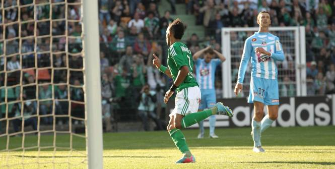Saint-Etienne assure le spectacle