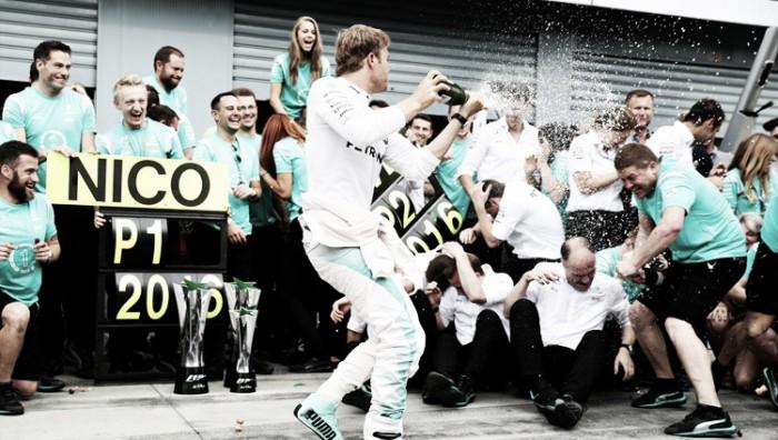 La familia Rosberg entra en el Olimpo de la Fórmula 1