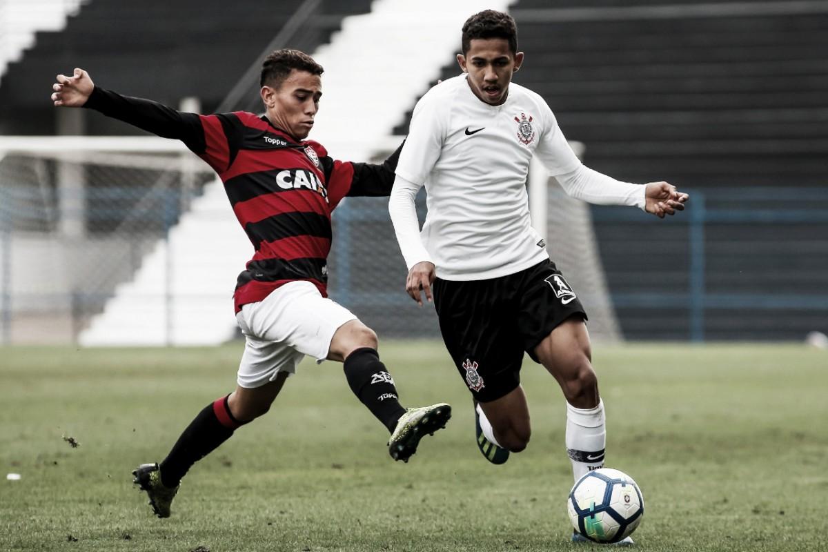 Com um gol pra cada lado, Corinthians e Vitória ficam no empate no Brasileiro sub-20