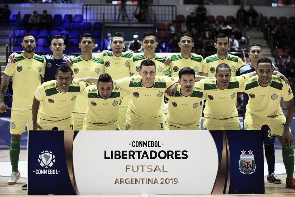 Alianza Platanera se instaló en los cuartos de final de la Libertadores de Futsal