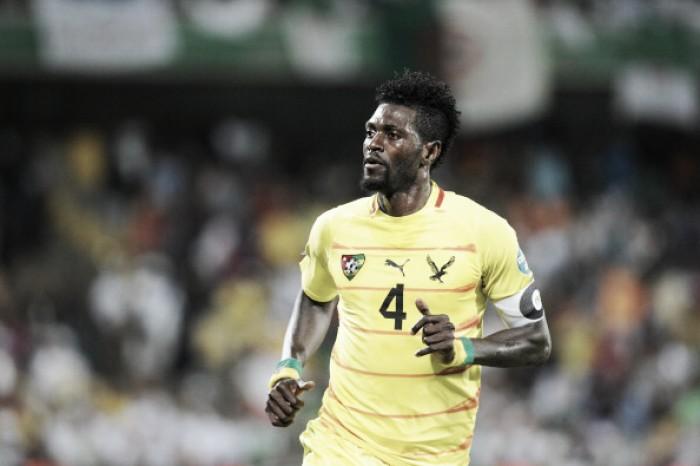 Adebayor relata desejo de disputar Copa Africana de Nações e Lyon encerra negociação com atacante