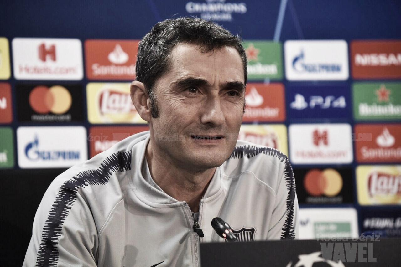 """Ernesto Valverde: """"Saldremos a ganar como lo hacemos siempre"""""""