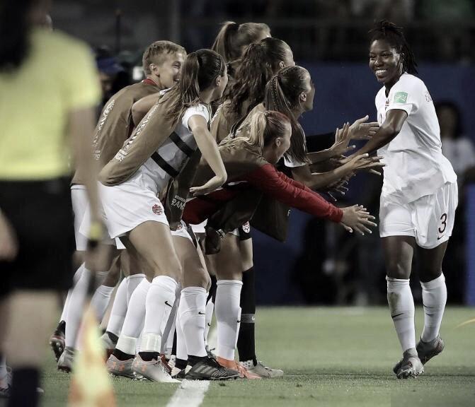 Com gol no primeiro tempo, Canadá vence Camarões na Copa do Mundo Feminina