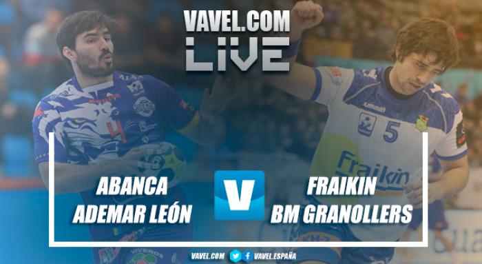 ABANCA Ademar León vs Fraikin BM Granollers en Liga Loterías ASOBAL 2017