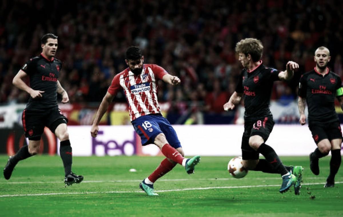 Atlético bate Arsenal, acaba com sonho europeu de Wenger e avança à decisão da Europa League