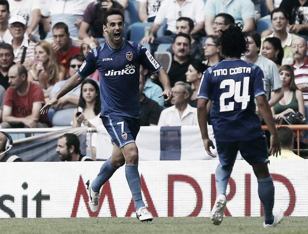El Valencia aguanta la ofensiva blanca y saca un empate de oro