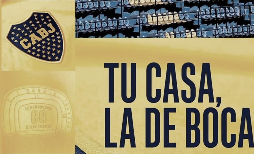 Adidas lanzará una nueva camiseta por los 80 años de La Bombonera