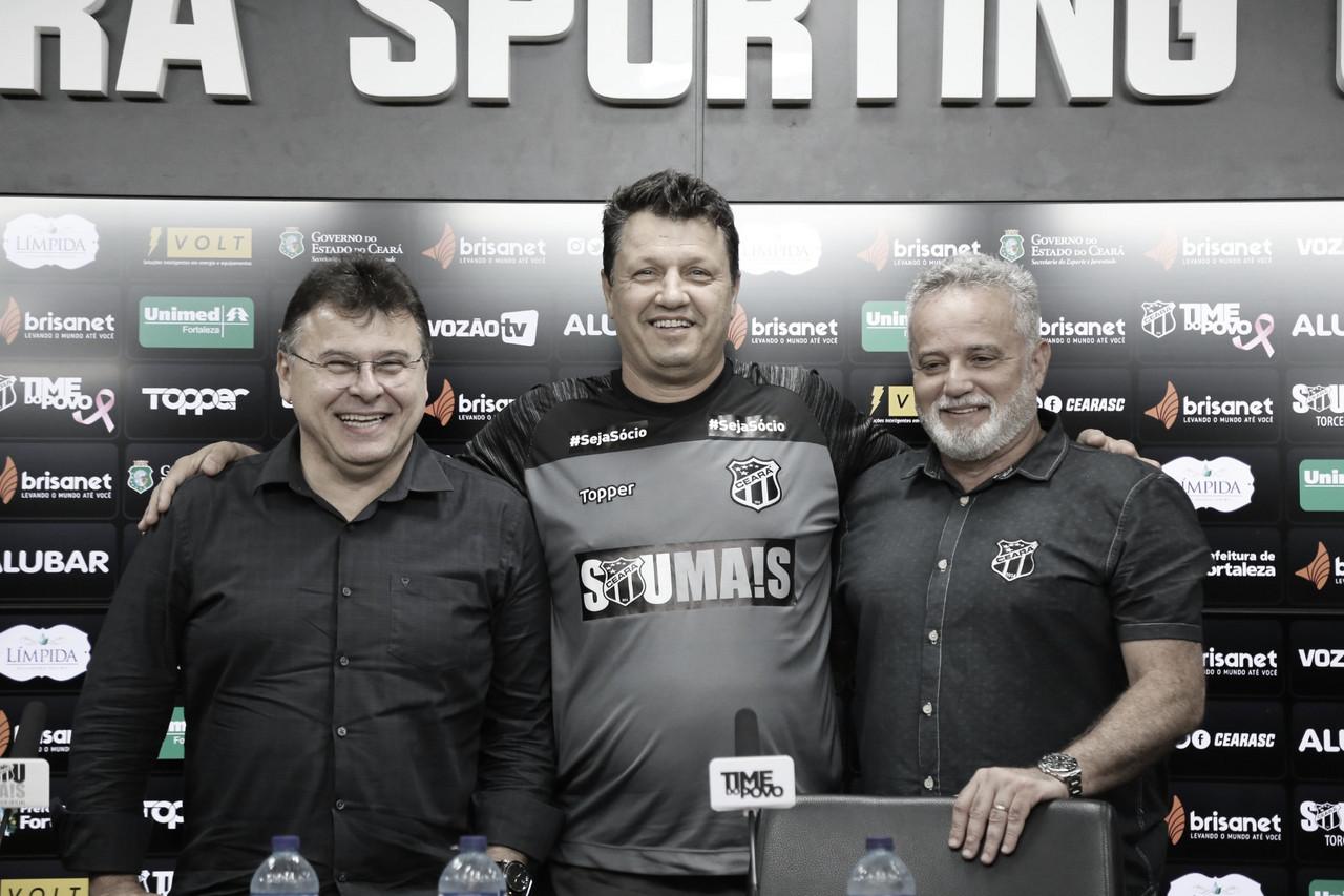 """Adilson Batista visa retomada da carreira na chegada ao Ceará: """"Cometi erros que não farei mais"""""""