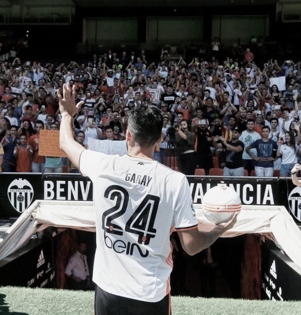 Garay dice adiós al Valencia