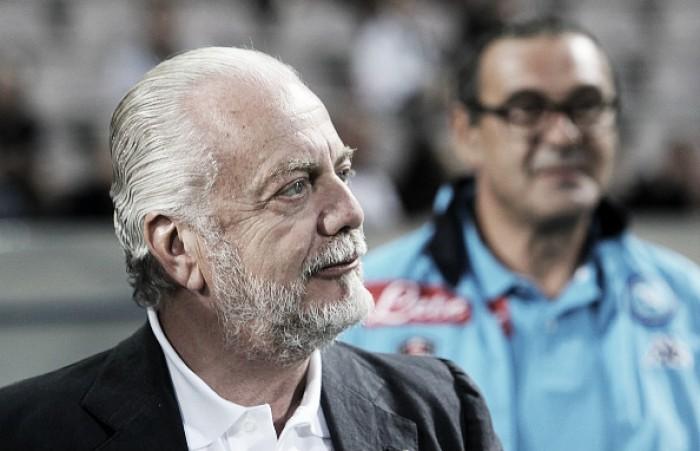 Presidente do Napoli vê como 'traição' possível saída de Higuaín para Juventus