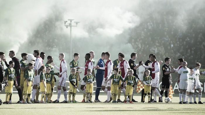 El Kyocera Stadion se tiñe de rojo y blanco
