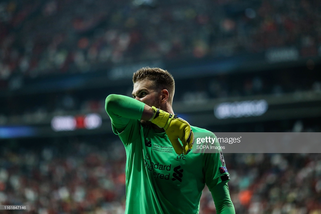 Liverpool's goalkeeping crisis thickens after Adrian suffers injury from fan