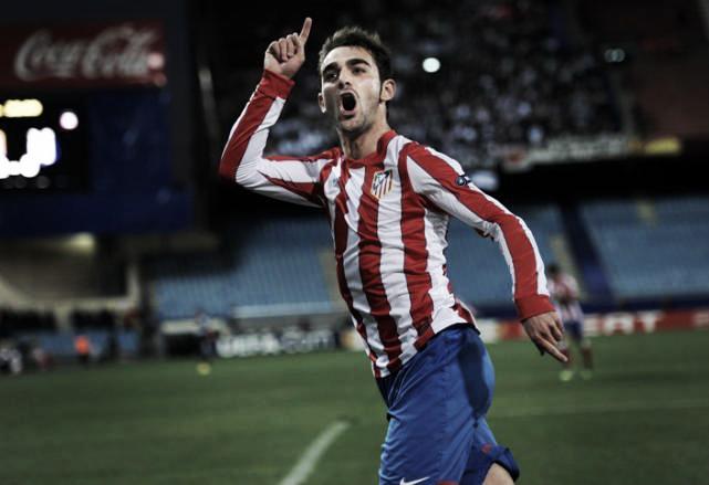 Adrián canta los cuarenta del Atlético de Madrid en Liga