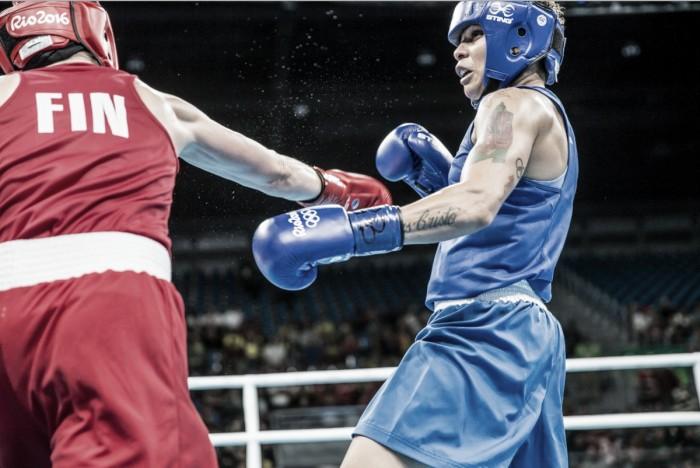 Bronze em Londres 2012, Adriana Araújo decepciona e cai na primeira rodada do boxe feminino