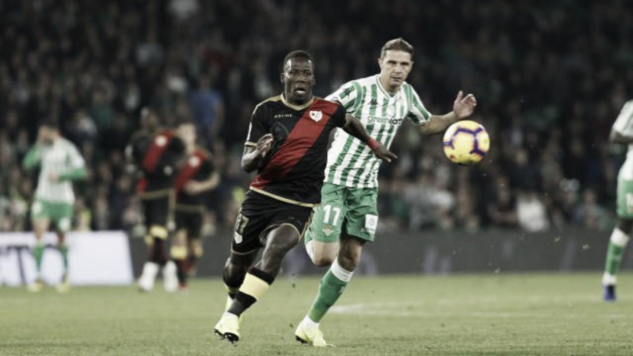 Em jogo travado, Rayo Vallecano e Betis empatam pela La Liga