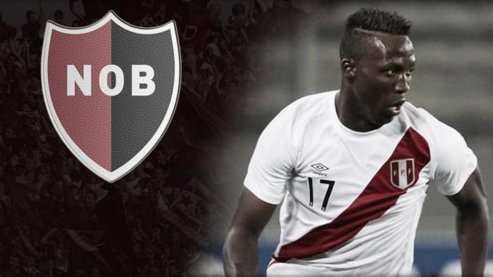 Luis Advíncula es el nuevo jugador de Newell's Old Boys