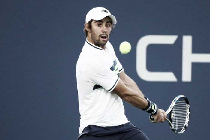 US Open: Jordan Thompson upsets Jack Sock in five-set marathon