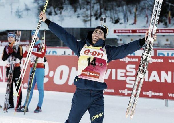 Oberhof : Martin Fourcade en solo