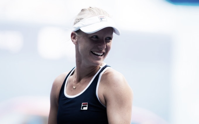 Bertens vence Pera de virada e se garante nas oitavas do WTA de Wuhan