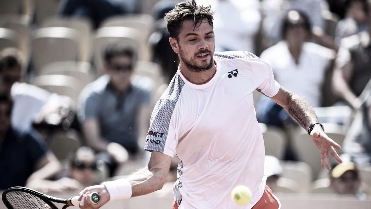 Com direito a 'pneu', Wawrinka atropela Garin e avança à terceira rodada de Roland Garros