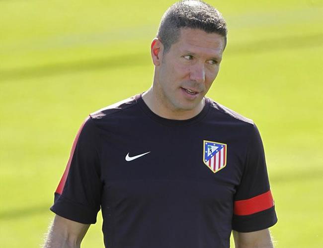 "Simeone: ""Adrián no va a salir"""