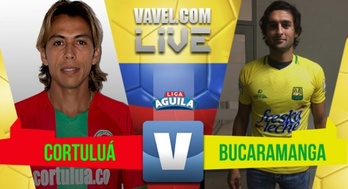 Sin goles en Cali: Cortuluá 0-0 Atlético Bucaramanga