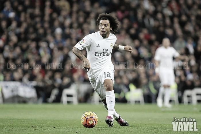 Marcelo, con molestias en la espalda, causará baja ante el Real Betis