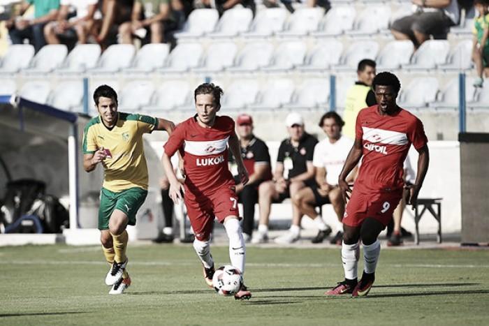 Spartak Moscou empata fora de casa com AEK Lanarca nas eliminatórias da Liga Europa