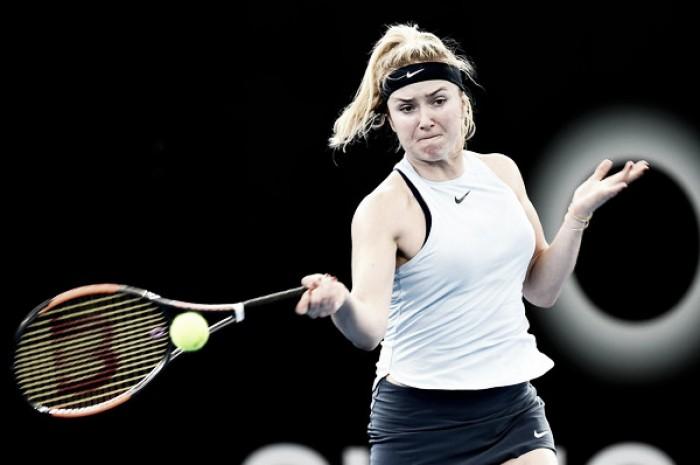 Svitolina avanza imparable a cuartos en Brisbane