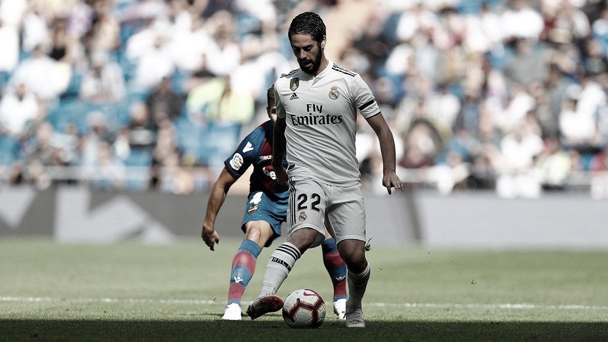 Real Madrid perde para o Levante em casa e se distancia da liderança do Campeonato Espanhol