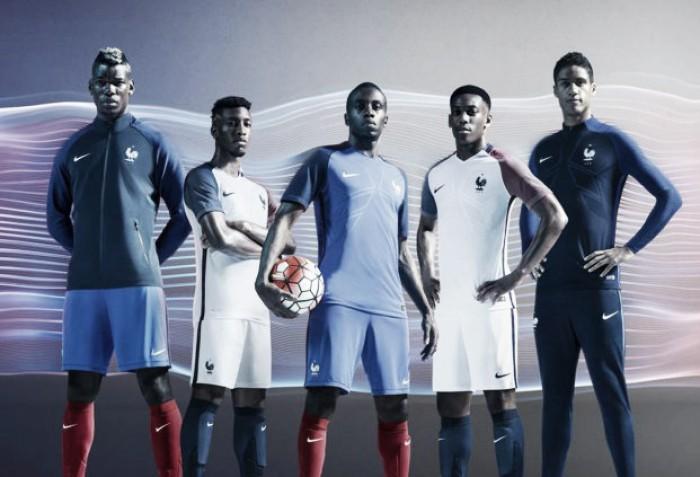 Seleção Francesa divulga novo uniforme para disputa da Eurocopa 2016