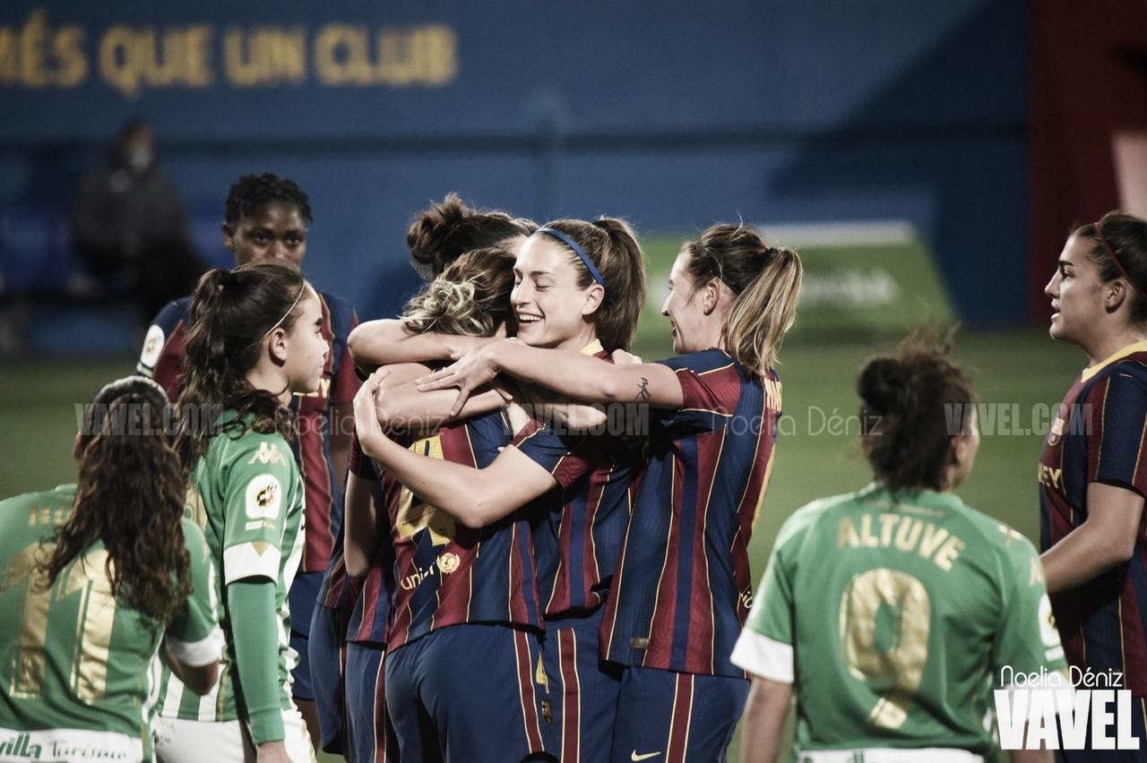 """El Barça sigue pasando su """"rodillo"""" en la Primera Iberdrola"""