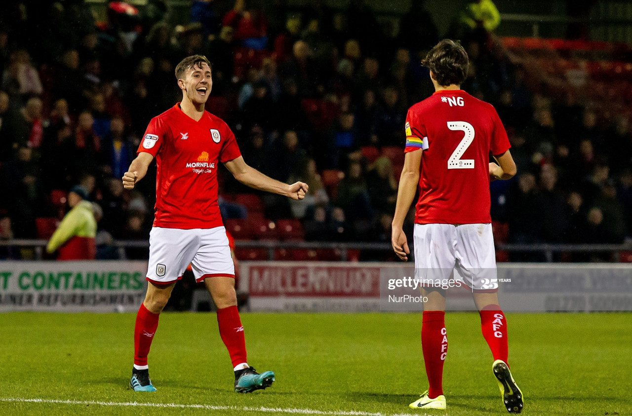 Youth commitment delivers again for Crewe