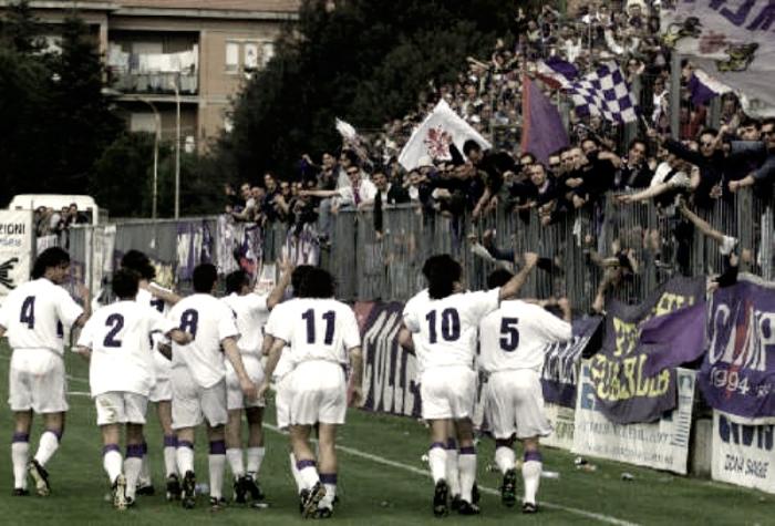 Fiorentina - La storia. 3° puntata: la Serie C2, il girone di ritorno